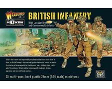 BRITISH INFANTRY - BOLT ACTION - WARLORD GAMES WW2 - WARGAMING - 28MM - WORN
