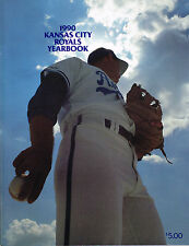 1990 Kansas City Royals MLB Baseball YEARBOOK