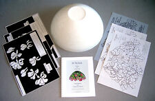"Stained Glass Lamp Kit Conti Studios 14"" Cyclamen  PRICE REDUCED FOR HOLIDAYS"