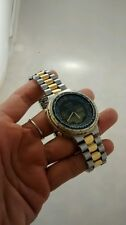 Rare vintage Citizen gn-4-s wr-100  chronograph digital watch need battery