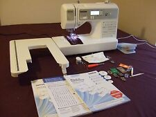BROTHER SQ9185 COMPUTERISED SEWING & QUILTING MACHINE & WALKING FOOT + FONT SEW