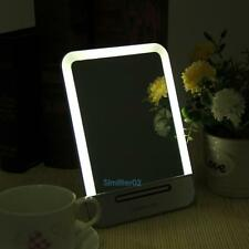 Rechargeable LED Touch Screen Adjustable Cosmetic Makeup Mirror Light Table Lamp