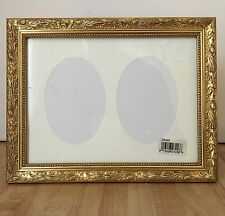 Burnes of Boston Windsor Gold Leaves 2 Photo Picture Frame NEW