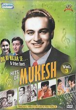 HITS OF MUKESH VOL 3 - DIL KI NAZAR SE & OTHERS - NEW BOLLYWOOD SONGS DVD