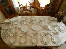 """Amcrest China """"Dubarry"""" Service for 12 with 6 Serving Pieces"""