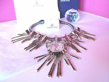 SWAROVSKI Crystal Sensational RARE Collar Necklace - Swan Hallmarked was £600+
