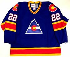 NHL Colorado Rockies Vintage Hockey Jersey. Any size,name,and number you want