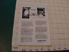 vintage 1976 METAGAMING CONCEPTS Gaming catalog fold out, I SHOW FULL ITEM