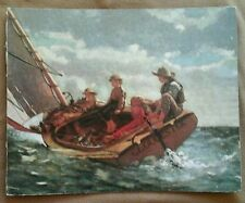 FOUR GUYS ON A SAIL BOAT