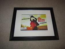 "Framed Texas Chainsaw Massacre Mini Poster, UK QUAD, RARE 14""x17"", Beautiful!"