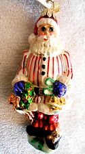 Christopher Radko Ring In The Holiday Santa Retired Limited Edition  NWT