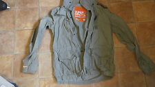 MENS SIZE M CHECKPOINT LITE SUPERDRY JACKET GREAT CONDITION