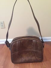 American Luggage Vintage Triumph Bag Brown Carry On