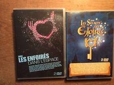 Les Enfoirés 2004 + 2008 [4 DVD ] Goldman Nolwenn Leroy Garou Alizee MC Solaar