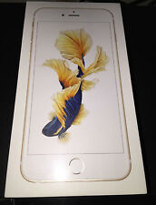 (NEW & SEALED) APPLE iPHONE 6S PLUS 128GB GOLD GSM SMARTPHONE (FACTORY UNLOCKED)