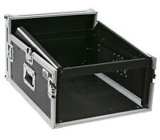 OSP 4-Space ATA Mixer Rack Road Tour Flight Case 12-Space Depth - MC12U-4