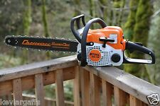 PILTZ Stihl MS170 Easy Start HOT SAW 18 inch bar and Chain Perfect CHAINSAW