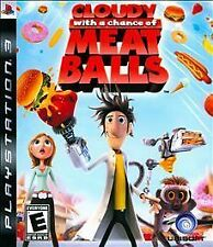 Cloudy With a Chance of Meatballs -- Sony PlayStation 3 PS3 -- GREAT CONDITION