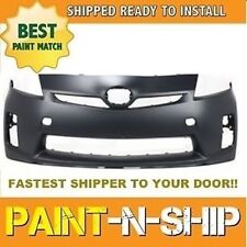 Fits; 2010 2011 Toyota Prius BASE Front Bumper Painted to Match (TO1000359)