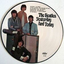 "Beatles - Yesterday And Today - Euro - 12"" Picture Disc LP - Butcher - NEW"