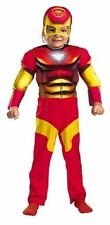 Iron Man Super Hero Squad Deluxe Boys Muscle Costume Size 2T