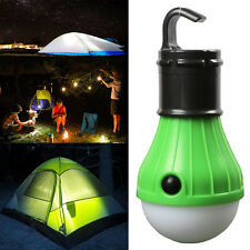 Outdoor Camping Hiking NEW 3 LED Light Portable Tent Night Hanging Lantern Lamp
