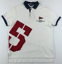 Polo Ralph Lauren #5 3rd Squadron Shirt Mens L Custom Fit (Better Fits A M Med.)