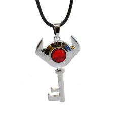 Cosplay Anime The Legend of Zelda Boss Key Necklace Crystal Pendant Chain Gift
