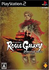 Used PS2 Rogue Galaxy Director's Cut  Japan Import (Free Shipping)