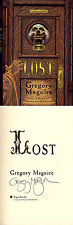 Gregory Maguire SIGNED AUTOGRAPHED Lost HC 1st Ed Scrooge A Christmas Carol