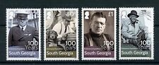 South Georgia & Sandwich Islands 2016 MNH Shackleton Endurance Expedition 4v Set