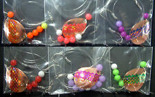 Copper #5 Colorado Lake Erie Walleye Candy Worm Harness (1) set (6)Foil/Scale