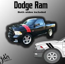 Dodge Ram Hash Mark Stripes Vinyl Decal Graphics Kit 1500 2500 3500 Diesel Truck