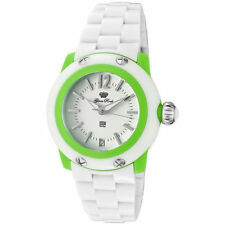 Glam Rock MISS MIAMI BEACH Polycarbonate Watch GK4008 (White/ Green)