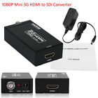 1080P Mini SD-SDI 3G-SDI HDMI to SDI Converter Adapter HDTV CCTV UK Camera 720P
