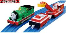 Percy & Rocky Train Set TS17 - Thomas The Tank Engine By Tomy Trackmaster Japan