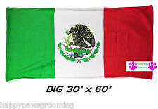 "MEXICO MEXICAN Flag Banner Big 30x60""COTTON BATH POOL BEACH TOWEL WRAP"