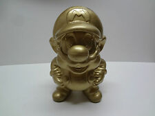Vintage Mario Gold Statue 30CM ( 12 INCHES ) Nintendo Japan