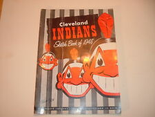 1948 Cleveland Indians Sketch Book / Year Book Yearbook #2