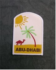 UK Scout Aboard ABU-DHABI United Arab Emirates Membership Badge