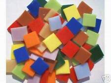 100 Fiesta Mosaic Tile Stained Glass Art Handcut Craft