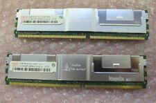 ORIGINALE Dell 4GB MEMORIA PowerEdge R900 PC2-5300F 2X2 GB