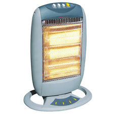 EVANTAIR Halogen Heater With Oscillating Base 1350W