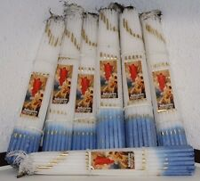 33 Candles Blessed By Holy Fire Sepulchre Church Religious Christian Jesus Land