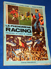 1978 le phenomène Racing Strasbourg RCS au coeur de l'europe FOOTBALL ALSACE