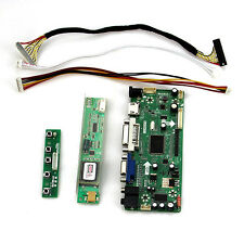 LCD Controller Board DIY Kit Lvds cable Power Adapter DVI cable NTA92C(VGA+DVI)