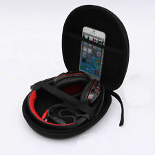 Portable Protective Zip Up Hard Shell Case bag For Large Headphone Headset New