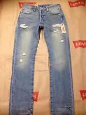 501 Levi's size: 32 x 34 Man's Button Fly Jeans 100% cotton pants 005012187