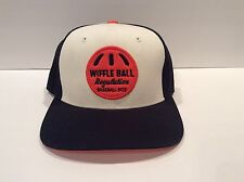 Wiffle Ball Baseball Hat Cap Black/Orange Starter Snapback San Francisco Giants