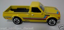 Hotwheels Datsun 620 Pickup Truck Yellow Paint 1/64 Scale JC7